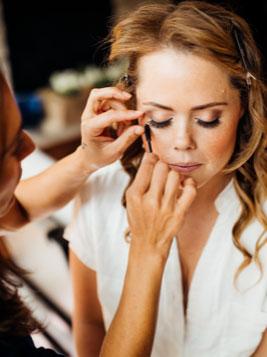 Vail wedding makeup